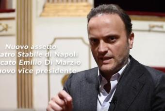 Intervista al neo vice presidente del Teatro Stabile di Napoli, l'avvocato Emilio Di Marzio
