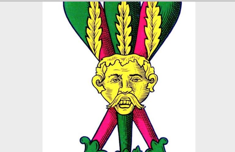 Il 3 di bastoni, la storia del volto di un noto personaggio Napoletano